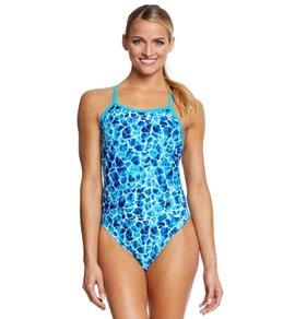 Waterpro Women's Coral One Piece Swimsuit