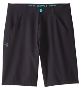Under Armour Men's Solid Turf & Tide Stretch Hybrid Walkshort Boardshort