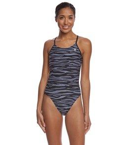 티어 여성 수영복 강습용 원피스 스윔수트 TYR Womens Crypsis Cutoutfit One Piece Swimsuit