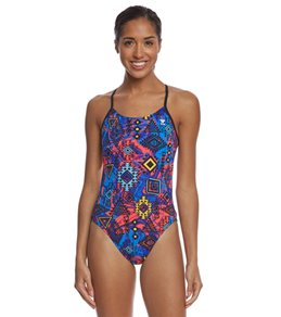 TYR Women's Santa Ana Cutoutfit One Piece Swimsuit