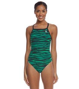 티어 여성 수영복 강습용 원피스 스윔수트 TYR Womens Crypsis Diamondfit One Piece Swimsuit