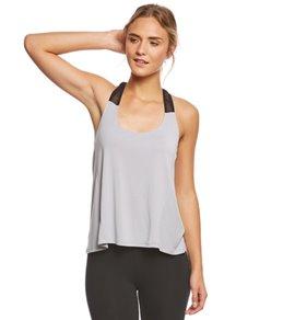 Betsey Johnson Mesh Elastic Strap Yoga Tank Top