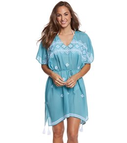 Seafolly Pacifico Embroidered Kaftan