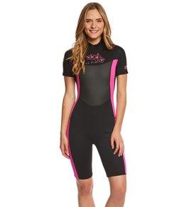 U.S. Divers Women's Hibiscus Shorty 2mm Wetsuit