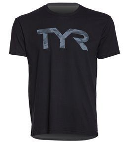 TYR Men's Camo Graphic T Shirt