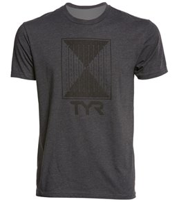 TYR Men's Time Lapse Graphic T Shirt