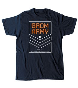Grom Boy's Thin Lines Short Sleeve Tee