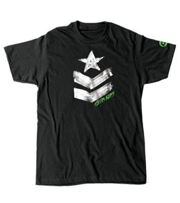 Grom Boy's Army Tag Short Sleeve Tee