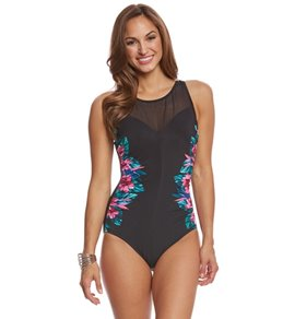 Miraclesuit Tahitian Temptress Fascination Underwire One Piece Swimsuit