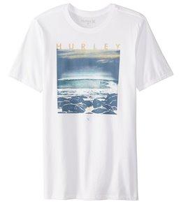Hurley Men's Rising Tides Short Sleeve Tee