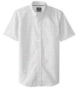 Hurley Men's Dri-Fit Sound Short Sleeve Woven Shirt