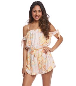MINKPINK Animal Orchid Playsuit
