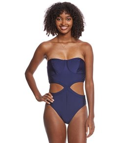 MINKPINK Lucky Star Strapless One Piece Swimsuit
