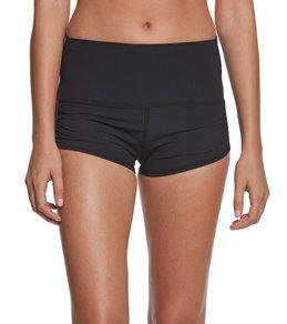Tonic High Waisted Gather Yoga Shorts