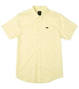 RVCA Men's That'll Do Oxford Short Sleeve Shirt