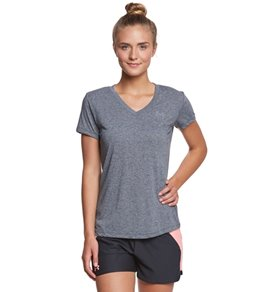 Under Armour Women's Threadborne Train Short Sleeve V-Neck Twist