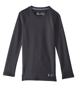 Under Armour Girls' ColdGear Crew Long Sleeve
