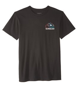 Quiksilver Men's Damn Time Short Sleeve Tee