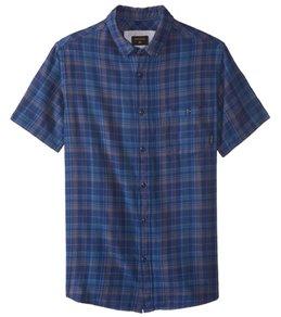 Quiksilver Men's Phaser Set Short Sleeve Shirt
