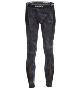 MyPakage Men's Solid Pro-X Full Length Legging