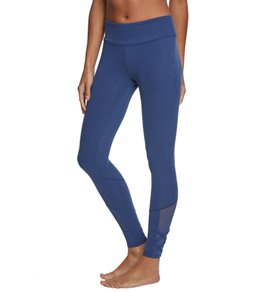 Balance Collection Alison High Waisted Strappy Mesh Yoga Leggings