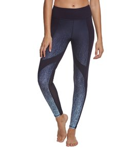 Betsey Johnson Performance Gradient Speckle Blocked Ankle Yoga Leggings