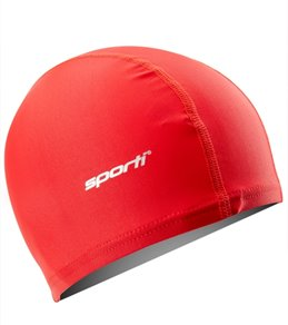 Sporti Polyester Spandex Swim Cap