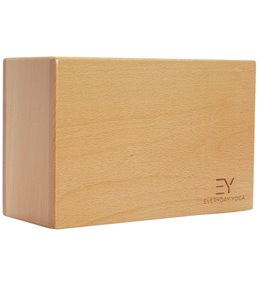 Everyday Yoga 4 Inch Wood Block At Yogaoutletcom