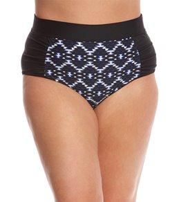 Skye Plus Size Vestige Waverly High Waist Bikini Bottom