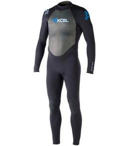 Xcel Men's 3/2MM GCS Back Zip Fullsuit