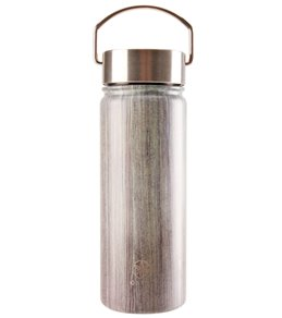 Gaiam Woodland Print Wide Mouth Stainless Steel Water Bottle (18oz)