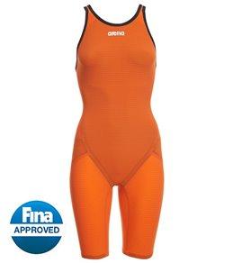 b87adad577 Arena Women's Limited Edition Powerskin Carbon Flex VX Open Back Tech Suit  Swimsuit