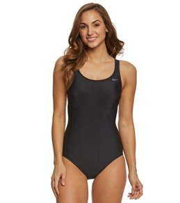 Nike Women's Epic Racerback Spliced One Piece Swimsuit