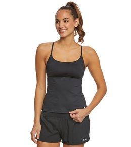 Nike Women's Adjustable Crossback Tankini Top