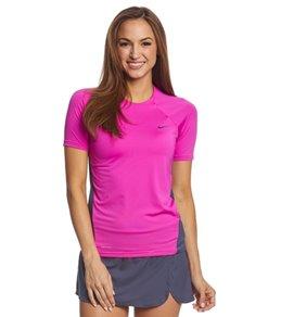 나이키 반팔 래쉬가드 드라이핏 Nike Womens Dri-FIT S/S Hydroguard