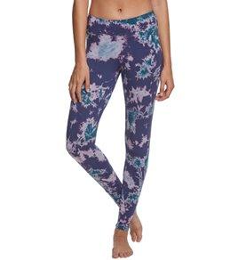 Pink Lotus Movement Dark Illusion Tie Dye Yoga Leggings