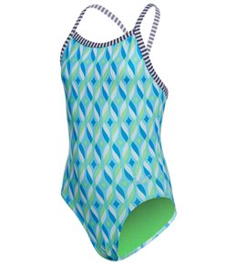 Dolfin Uglies Girls' Tinsel One Piece Swimsuit