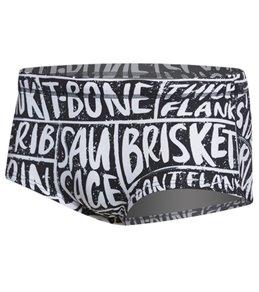 Funky Trunks Men's iBeefed Plain Front Square Leg Brief Swimsuit