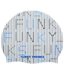 Funky Trunks Binary Bro Silicone Swim Cap