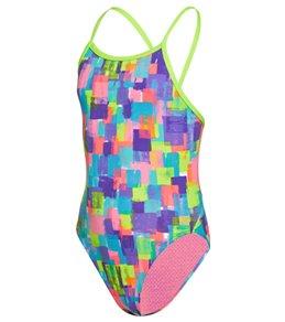 Funkita Girls' Madam Monet Single Strap One Piece Swimsuit