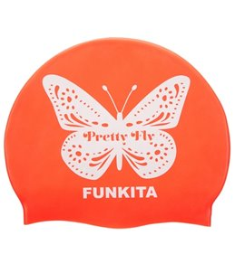 Funkita Pretty Fly Silicone Swim Cap