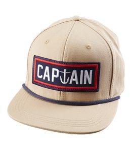 Captain Fin Men's Naval Captain 6 Panel Hat