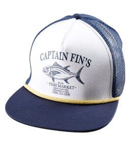 Captain Fin Men's Fish Market Trucker Hat