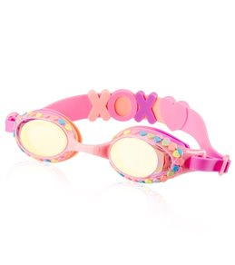 Bling2O Kids' Candy Hearts Swim Goggle