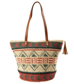 Billabong East of Dover Straw Tote