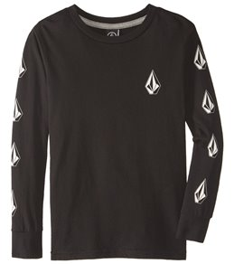 Volcom Boy's Deadlystones Long Sleeve Tee