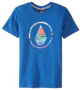 Volcom Kid's Magnetic Stone Short Sleeve Tee