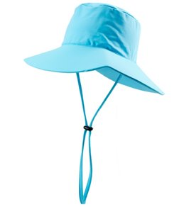 Wallaroo Women's Aqua Hat w/ Chin Strap