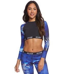 Akela Surf Women's Dancer Rashguard Neoprene Crop Top