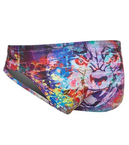 a0e5c973a Turbo Men s Wolf Wall Water Polo Brief
